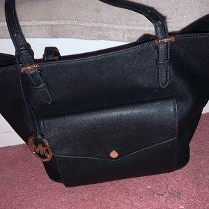 Michael Kors Bags - Black Michael Kors Saffiano Leather Tote